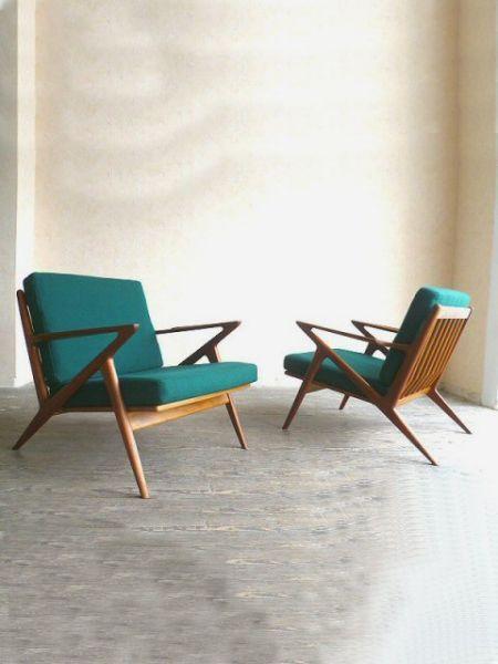 Z Chair POUL JENSEN 50er 60er Teak   Yvontage   Vintage. Alte MöbelZuhauseWohnzimmerWohnenDanish  ModernCafé DesignKlappstuhlTeakKopenhagener Gebäck