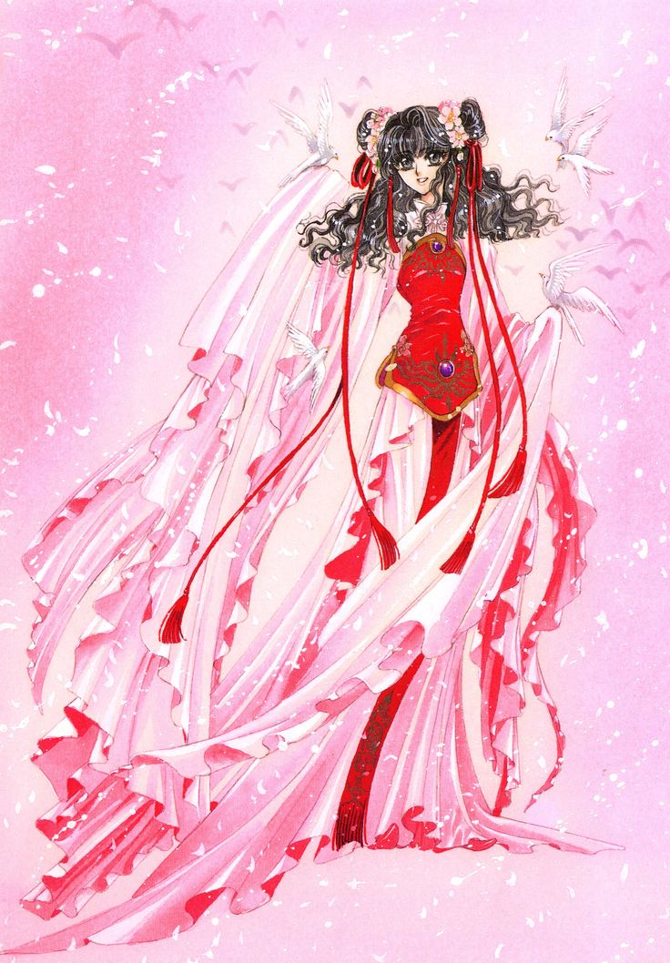 """Art from """"Soryuden"""" series by manga artist group CLAMP."""