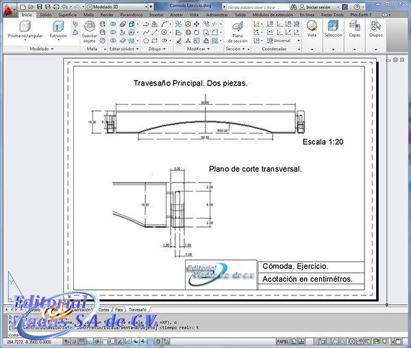 Autocad 2014 muebles detalles autocad para dise o de for Software planos arquitectonicos
