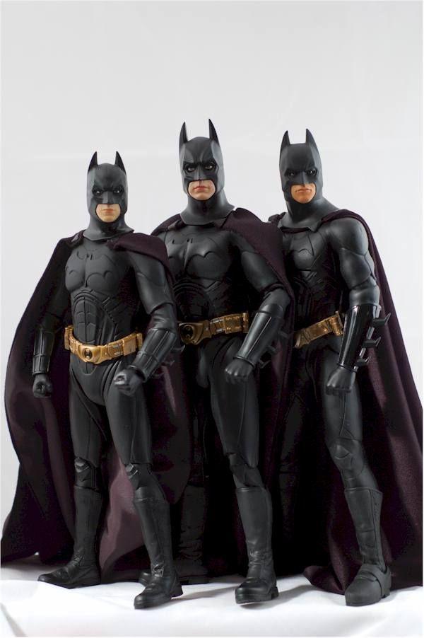 Batman Begins 1 6th Action Figure Comparison Review Batman