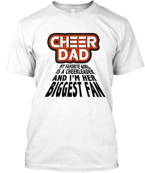 Stellar cheer dad daughter pride t shirt dads cheer Cheerleading t shirt designs