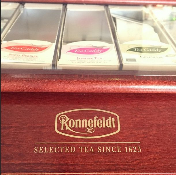 """The selection of the highest quality """"Ronnefeldt"""" #tea in our Sunset Lounge & Bar. Perfect with a piece of cake"""