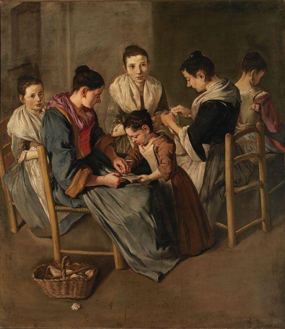 9 Giacomo Ceruti, Donne che lavorano.jpg