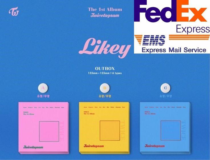 [TWICE] Twicetagram 1st Album Sealed New Rand Ver CD+Booklet+Photocard by FedEx