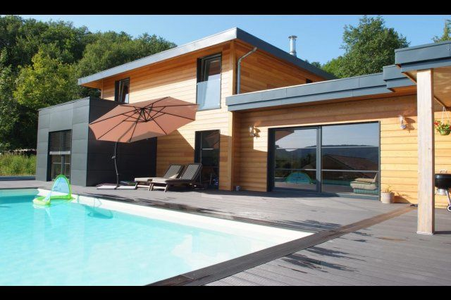 Myotte Duquet architecture bois, reportage construction maisons ossature bois…