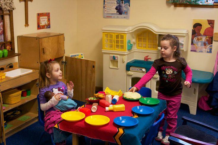 Preschool Kitchen Center Ideas