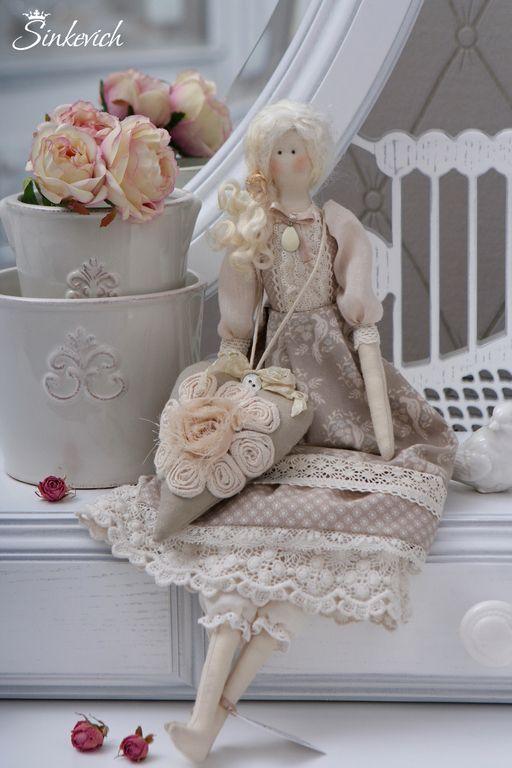 Куклы Тильды ручной работы. Ярмарка Мастеров - ручная работа Кукла в стиле Тильда Дженни. Handmade.