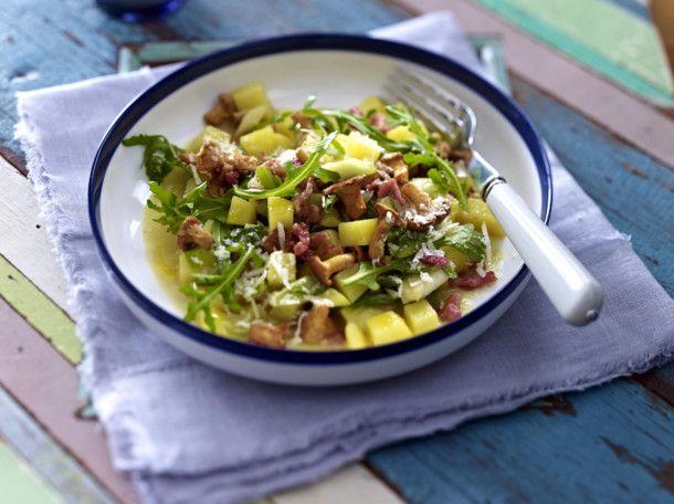 Kartoffel-Risotto mit frischen Pfifferlingen