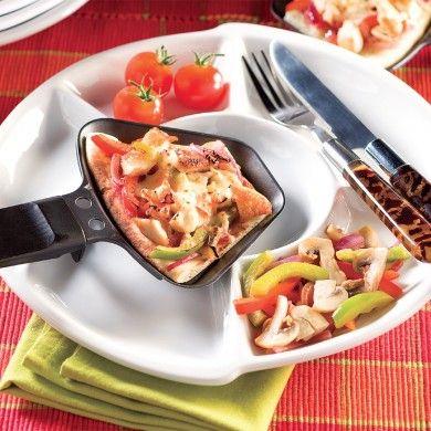 Pizza raclette - Recettes - Cuisine et nutrition - Pratico Pratique
