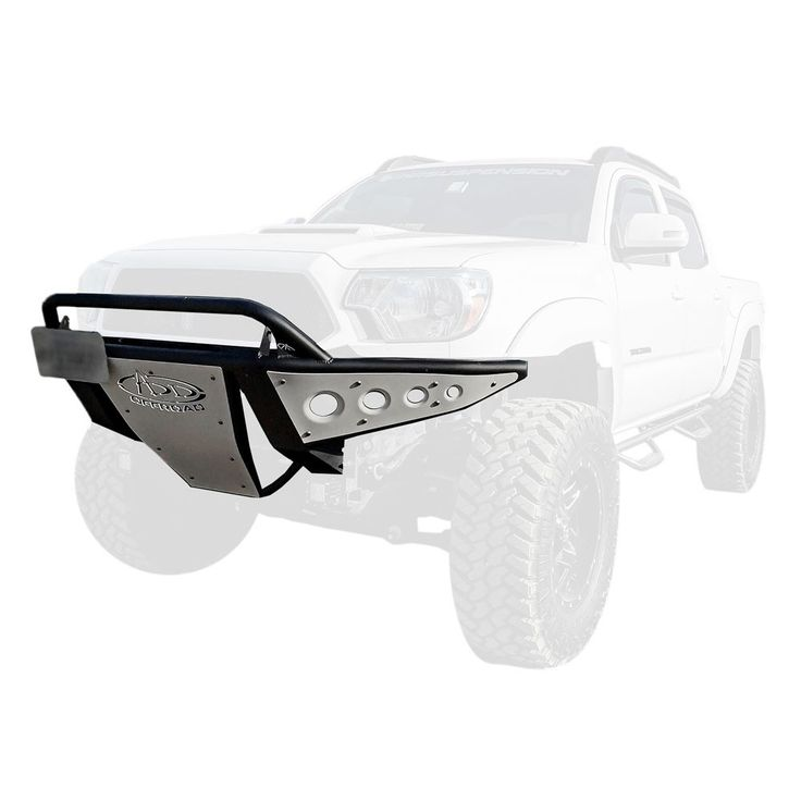 "Addictive Desert Designs Front Bumper Stealth With 30"" Light Bar Mounts Toyota Tacoma 2005-2016"