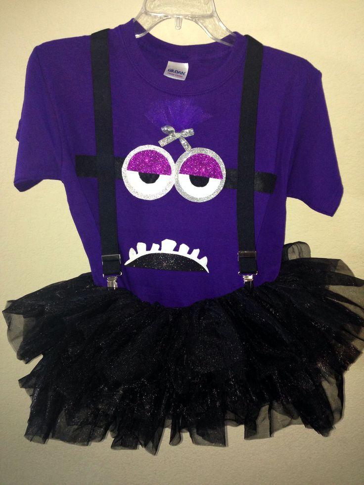 My homemade evil minion costume!