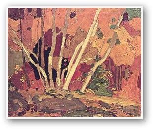 Tom Thomson Autumn Birches
