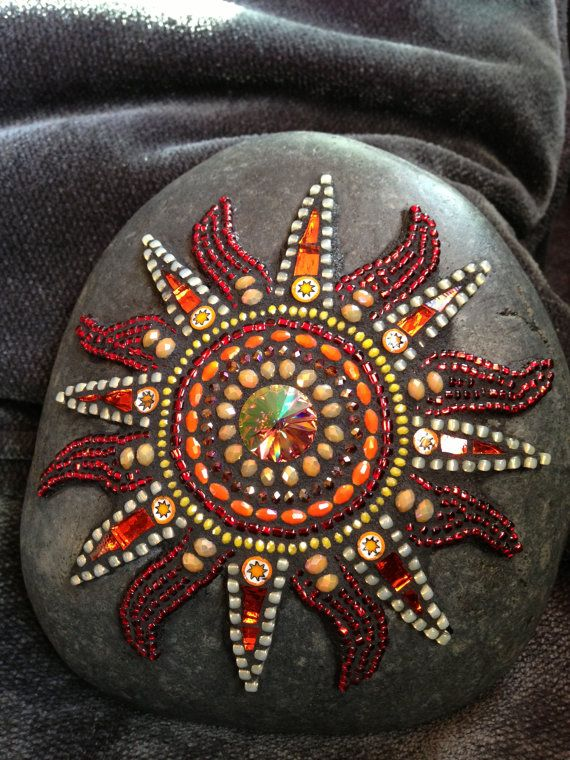 Mosaic Sun by Moonjewelsandmosaics on Etsy                                                                                                                                                                                 More