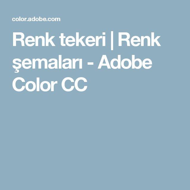 Renk tekeri | Renk şemaları - Adobe Color CC