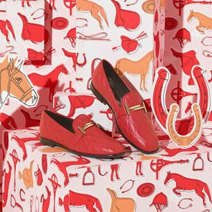 My latest work for Tod's <3 Crazy pattern is my favorite game #elenaborghi #illustration #setdesign