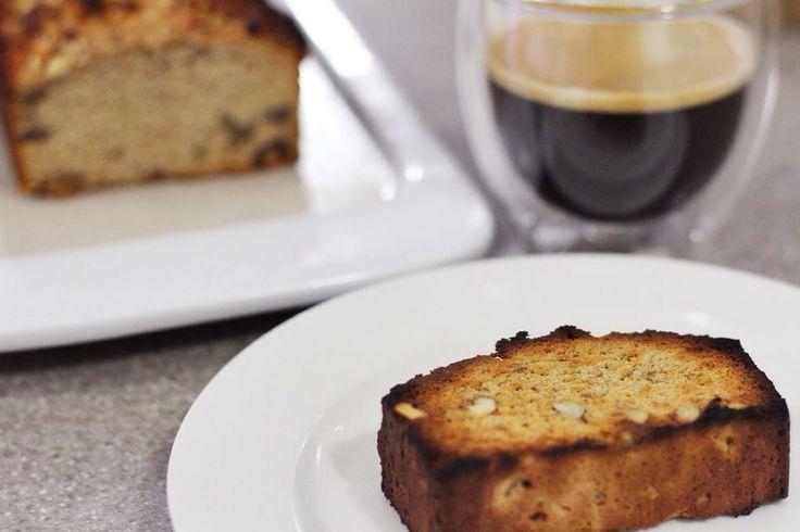 Coffee and Walnut loaf - #grainfree, #dairyfree, no refined sugar