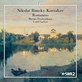 Nikolay Rimsky-Korsakov  Romances    Marina Prudenskaya, mezzosoprano  Cord Garben, piano    CPO, 2017