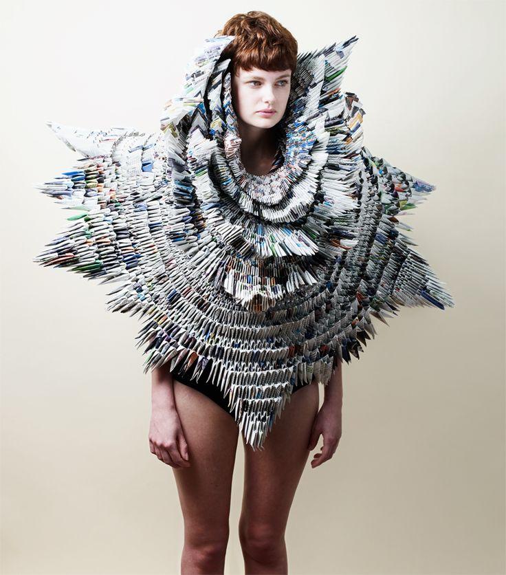 moda a partir de material de desecho ::: pandamonium 2012 ::: by rowan mersh