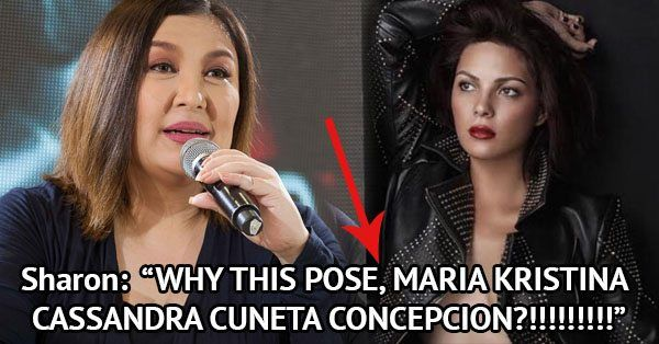 Sharon Cuneta pokes fun at KC Concepcions sexy photo