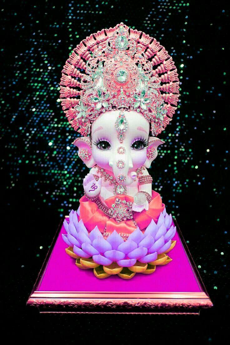 Pin By Kate On Vinayaka Baby Ganesha Happy Ganesh Chaturthi Images Barbie Drawing