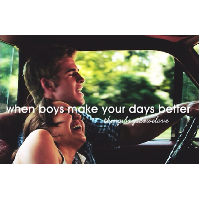 things i like about my boyfriend