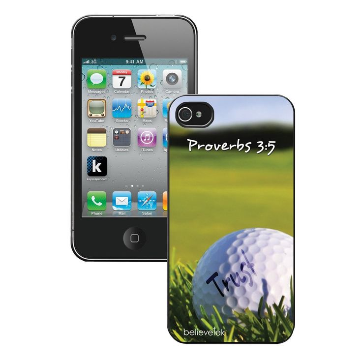 Golf - Trust - Christian iPhone 4 Case