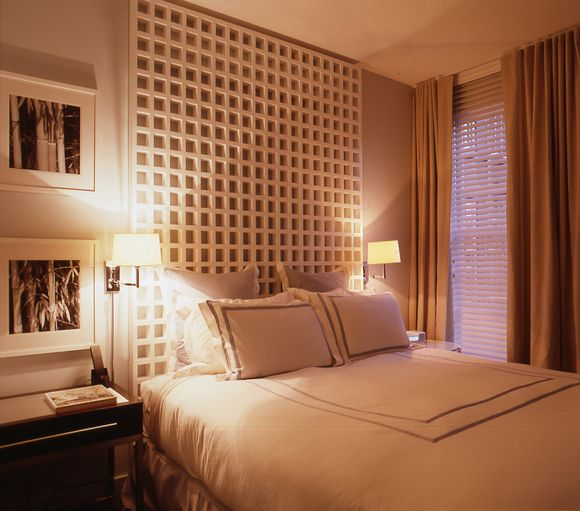 the lorien hotel rooms are modern but comfortable - Beaded Inset Hotel Decoration