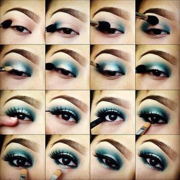 some great ideas. Love the pink and purple one 20 Amazing Eye Makeup Tutorials Ideas 5 20 Amazing Eye Makeup Tutorials & Ideas