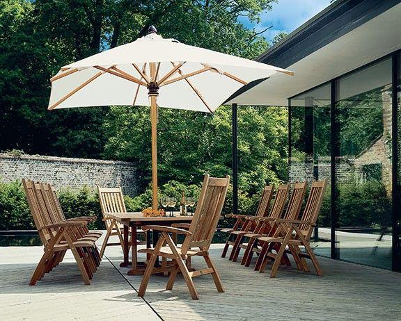 Barlow Tyrie Napoli 11.5' Rectangular Umbrella 4NA35R