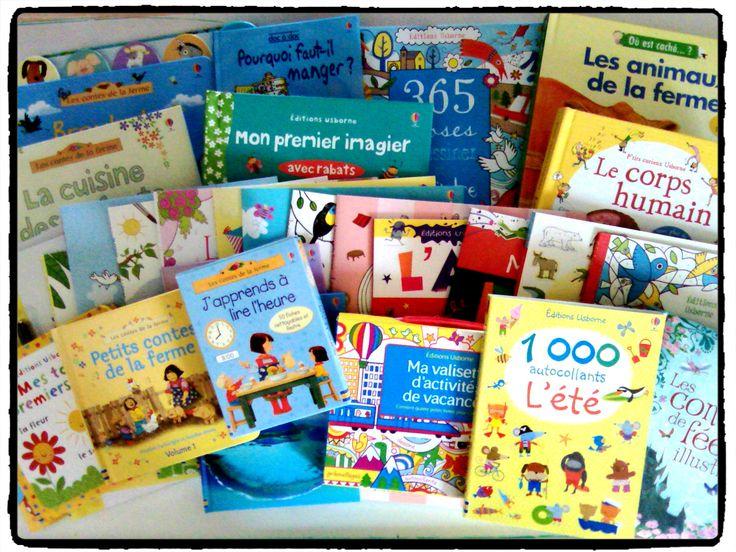 cadeaux lot livres Usborne littérature jeunesse