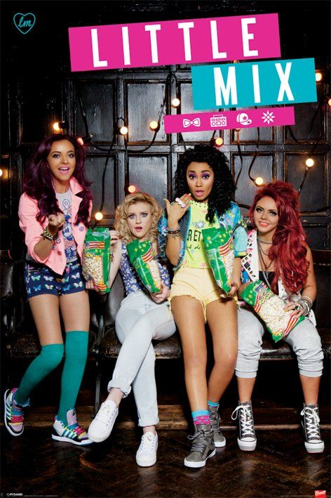 little mix | Details about LITTLE MIX POSTER - POPCORN - NEW LITTLE MIX POP MUSIC ...
