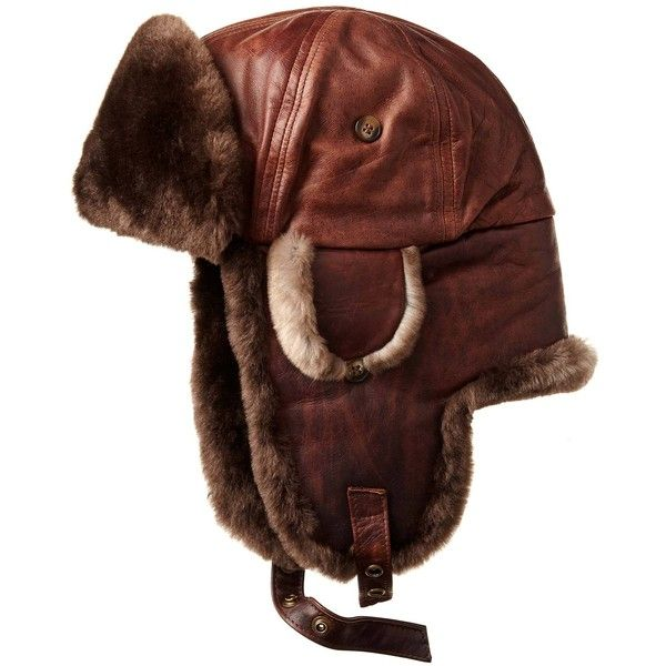Beaver Fur Aviator Hat ($360) ❤ liked on Polyvore featuring men's fashion, men's accessories, men's hats, mens fur hats, mens earflap hat, mens ear flap hats and mens caps and hats