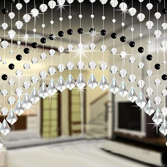 woaills crystal glass bead curtain for