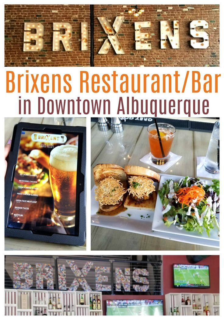 Brixens restaurant and bar in downtown Albuquerque provides delicious food, amazing cocktails, and a really fun atmosphere. Check it out!