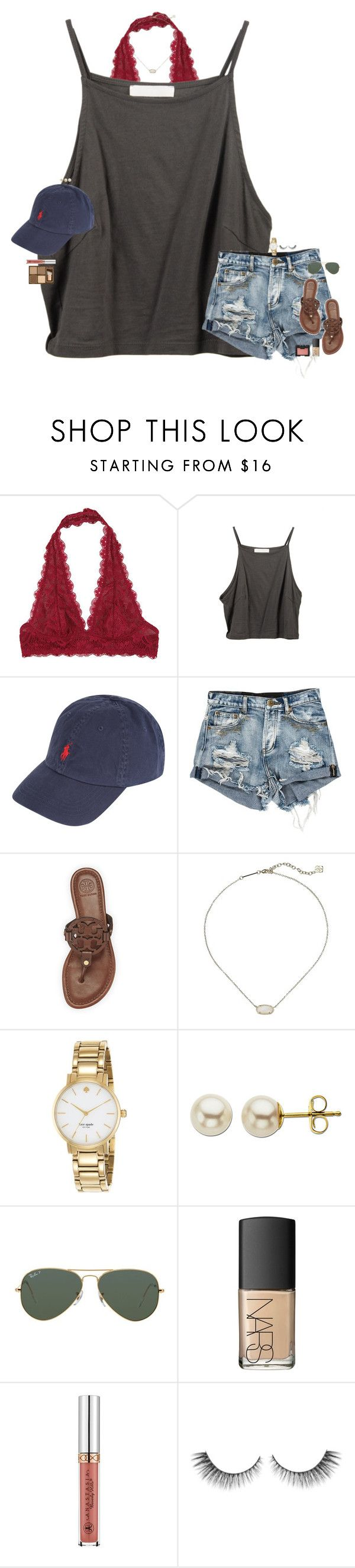 """•It's clear to see that time hasn't changed a thing•"" by maggie-prep ❤ liked on Polyvore featuring Free People, Polo Ralph Lauren, Tory Burch, Kendra Scott, Kate Spade, Lord & Taylor, Ray-Ban, NARS Cosmetics and Too Faced Cosmetics"