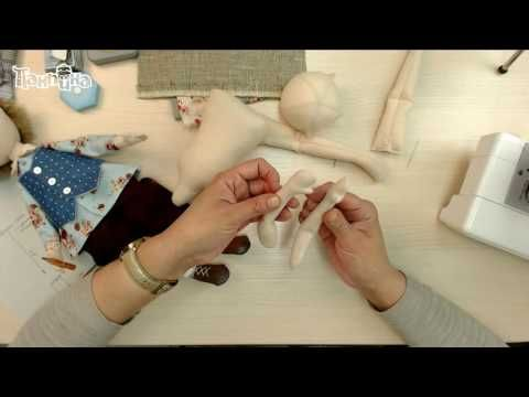 Мастер-класс кукла Гриша. Часть 2 - YouTube