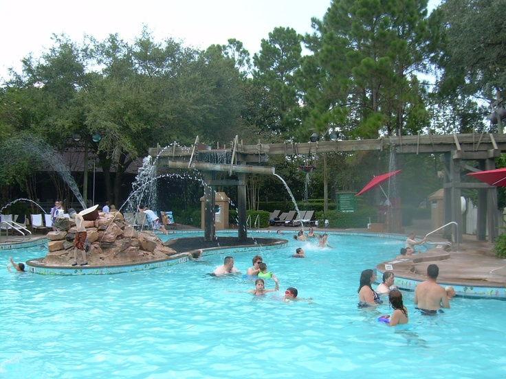 1000 images about disney 39 s port orleans resort for Pool design 974