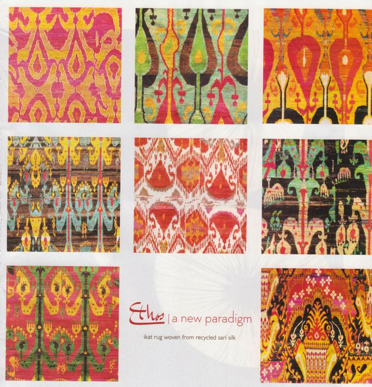 Popular Ikat Design are Originally From Indonesia!
