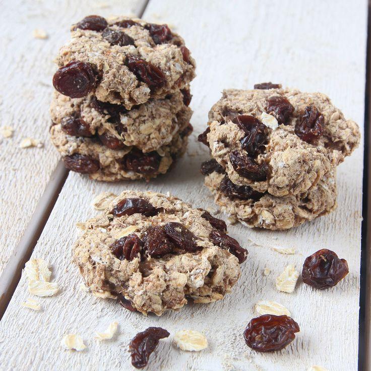 Hälsosamma kakor helt utan socker, mjöl och smör!