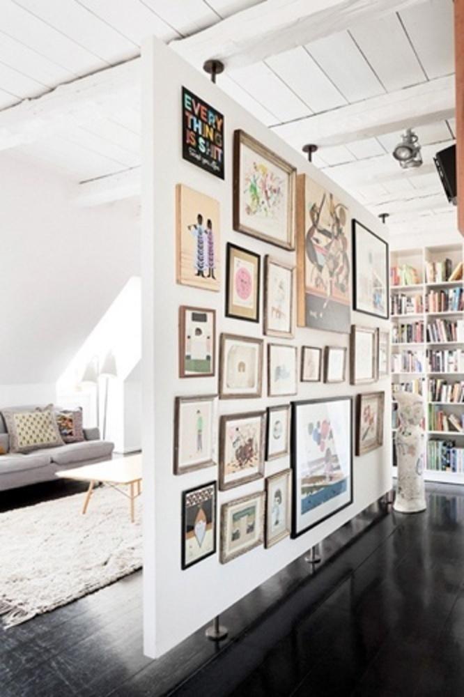 Foto de la pared es muy bonita y artistica.