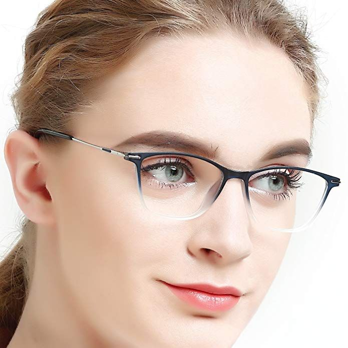 1b5e9aeee Eyewear Frames-OCCI CHIARI-Rectangle Lightweight Non-Prescription Eyeglasses  Frame with Clear Lenses For Womens 52mm … Review