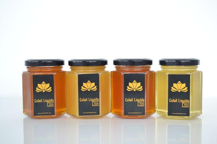 Bunătăţi pentru cadouri şi pentru acasă  Soleil Liquid îţi oferă posibilitatea să iei acasă pentru tine şi pentru familia ta oricare dintre sortimentele Soleil Liquide într-un ambalaj potrivit. Pentru că tu ştii mai bine de ce ai nevoie, noi îţi propunem să alegi una dintre cele două variante: borcane de miere de 250 grame şi borcane de miere de 390 grame.  Mierea Soleil Liquide îşi va păstra în condiţii excelente puternica tentă florală şi conţinutul bogat de vitamine…