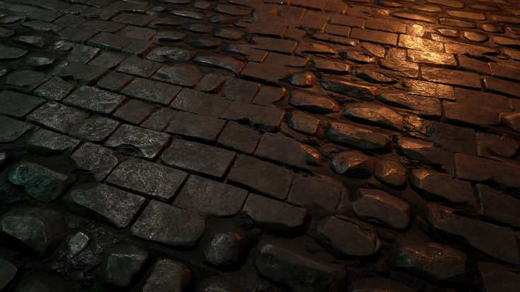 ArtStation - brick wall texture in Unreal 4, Martin Teichmann