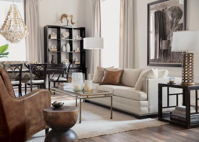 Malone Leather Chair Living Room Inspiration Furniture Living