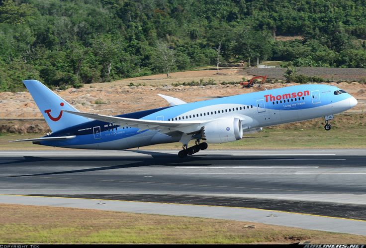 Thomson Airways: Boeing 787-8 Dreamliner