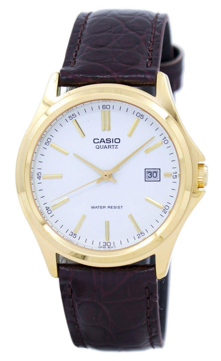 Casio Quartz Analog White Dial Gold Tone Mtp-1183q-7adf Mtp-1183q-7a Men's Watch (FREE Shipping)