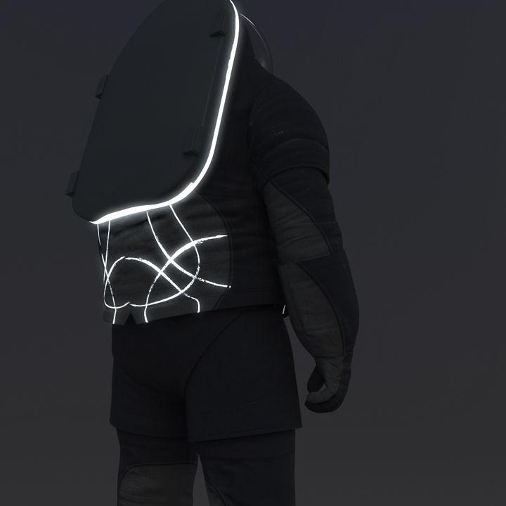 Z2 prototype suit cover layer designs  NASA