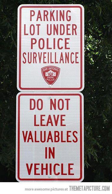 Under Police Surveillance…