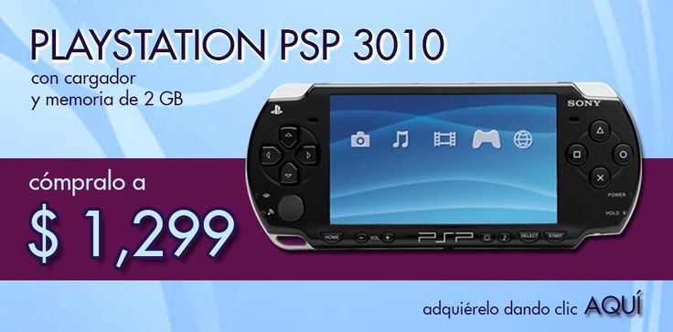 PSP con cargador y memoria de 2 GB