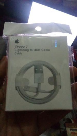 Iphone 7 Lightning to USB cable ori kabel data
